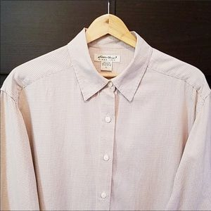 2/$25 Eddie Bauer Men's Cotton L/S shirt L